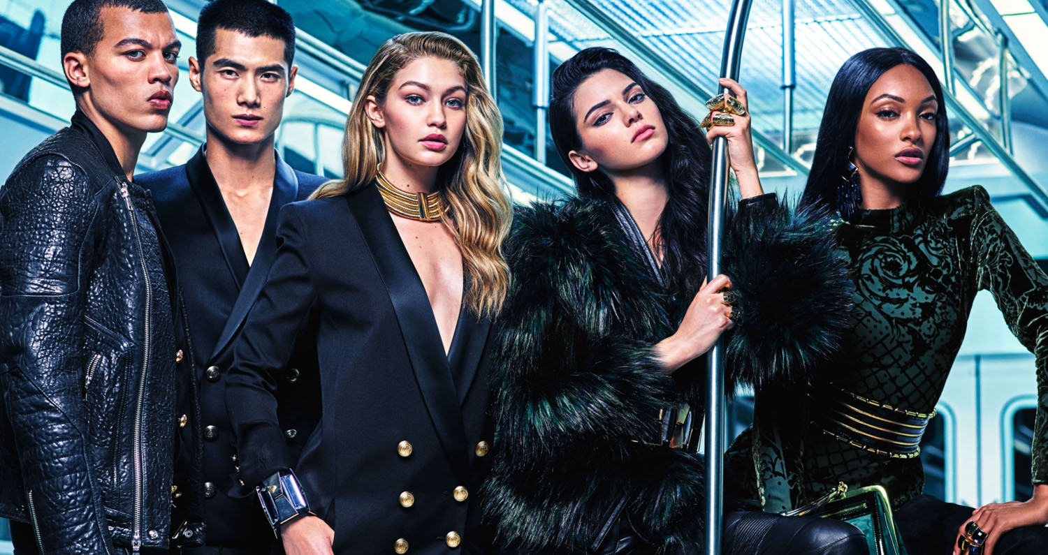 Eniwhere Fashion - Balmain for H&M - campagna pubblicitaria