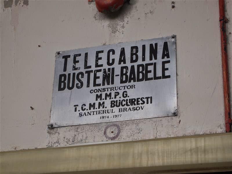 Telecabina Busteni - Babele