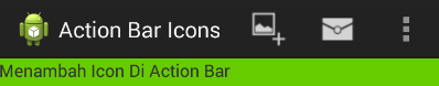 Icon Di Action Bar