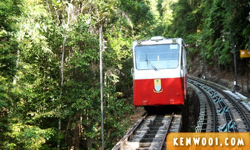 penang hill old tram