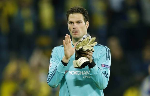 Asmir Begovic has been in fine form for Chelsea this season. (Picture: Reuters)