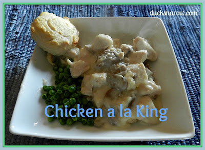 chicken a la king recipe #comfortfood #chickenrecipes #easydinners