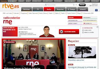 Radio Exterior de España estrena nueva página web - radioexterior.es