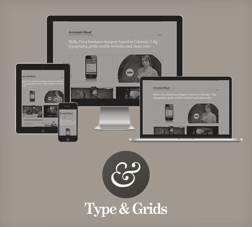 Type & Grids: Free Responsive HTML5 Template