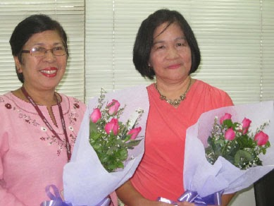 NISMED staff receive service award