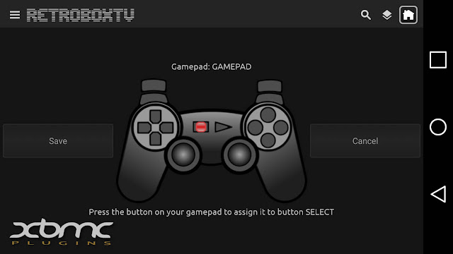 RETROBOXTV 2.0 Gamepad