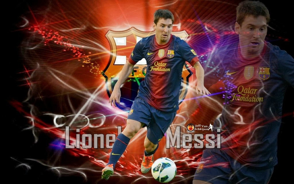 Welcome To Facebook Insurance Lionel Messi Wallpaper 2014