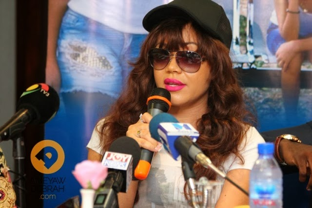 Nadia Buari Engaged