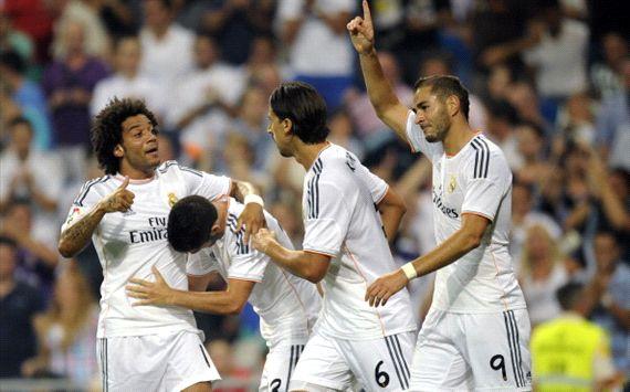 Isco tampil cemerlang memberikan kemenangan bagi Real Madrid melalui satu assist gol Benzema dan satu gol dari kepalanya.