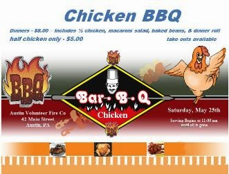 5-25 Chicken BBQ