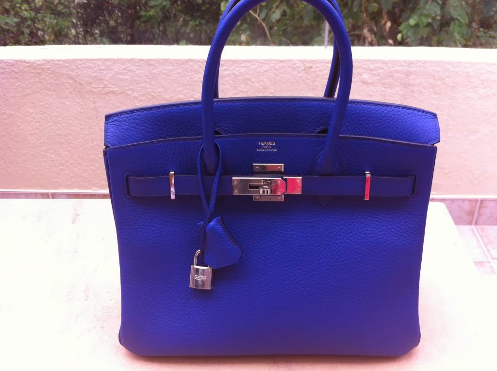 Blue Designer Handbag | Luggage And Suitcases