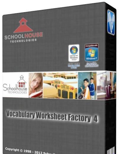 schoolhouse technologies vocabulary worksheet factory 4 full version free download. Black Bedroom Furniture Sets. Home Design Ideas