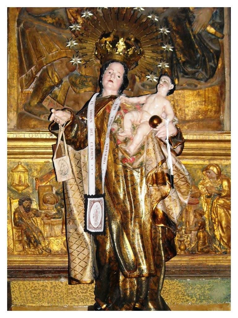 Gozos a la Virgen del Carmen