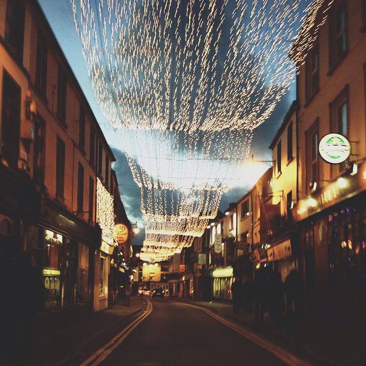 killarney town at christmas