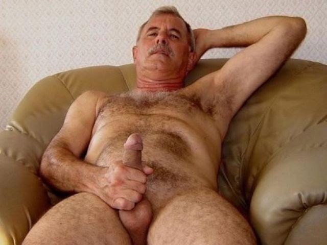 Viejo bigote papi gay