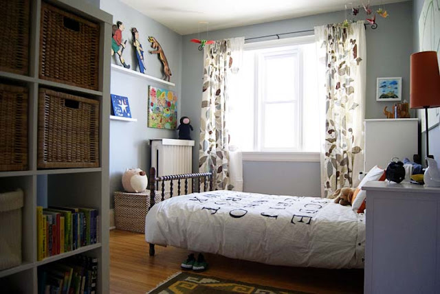 Big Boy Grey Gray Room turned bed