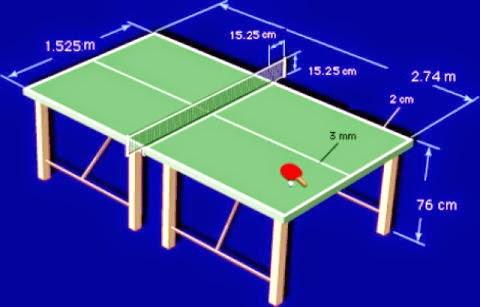 T nis de mesa hist ria e regras do t nis de mesa for Mesa tenis de mesa