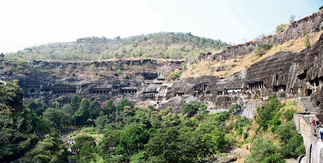 Ajanta Rock Caves at Aurangabad