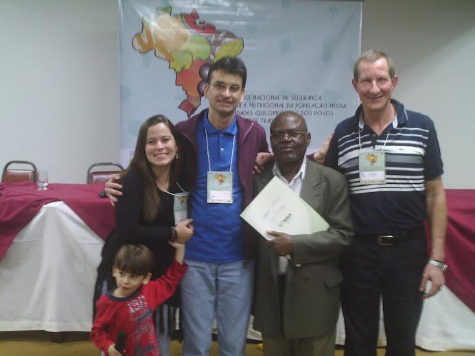 Lorenzo, Laydiane, Alcemi, Pedro Kitoko  Írio Conti - I Enc. Nacional de SAN.