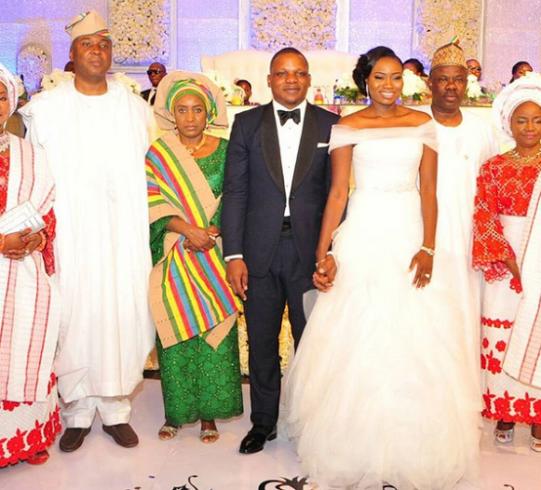 Oyindamola daughter of former Osun state gov Oyinlola marries.