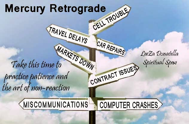 Mercury Retrograde Crossroads Graphic