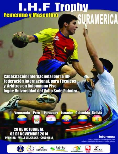 IHF Trophy región Sudamérica en Colombia | Mundo Handball