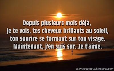 SMS D'amour - Declaration Amour