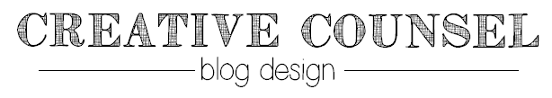 Creative Counsel Blog Design