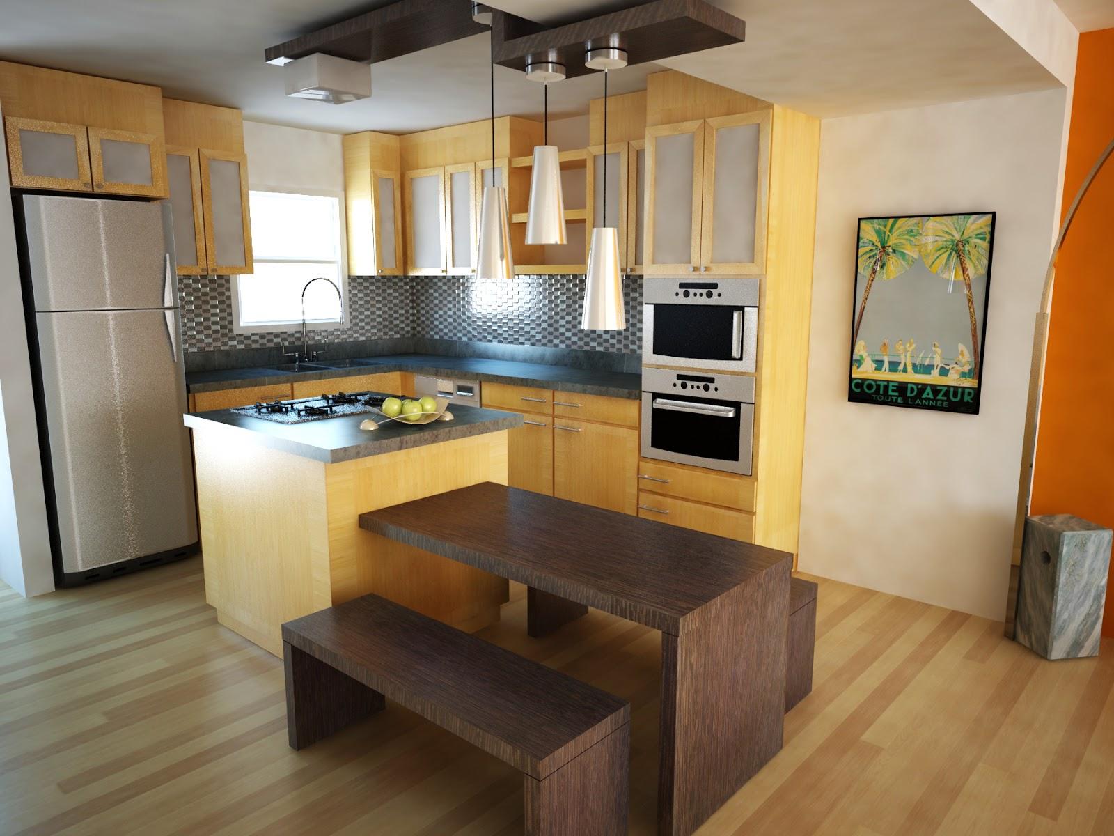 Small Kitchen Design Plans Interior 2014