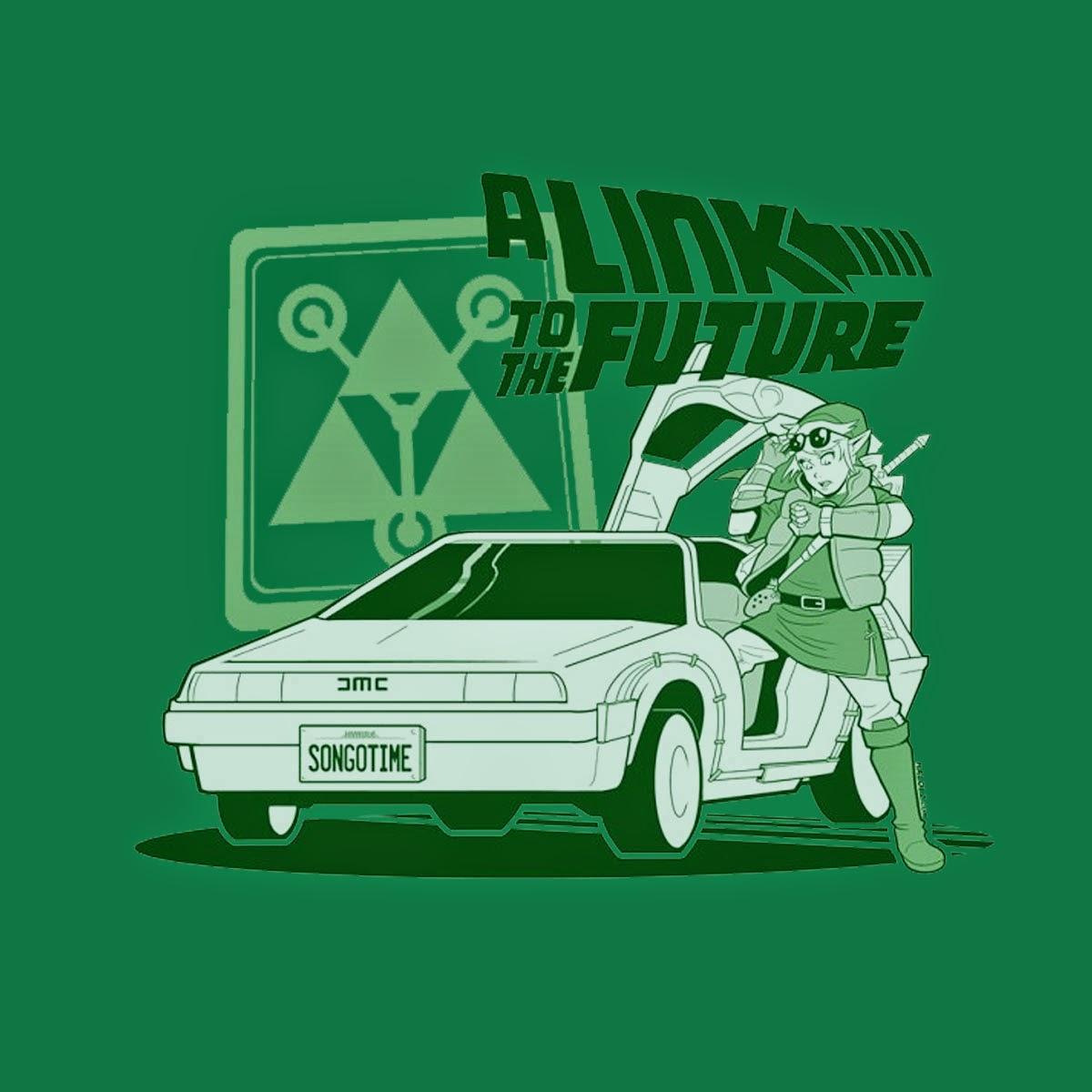 Camiseta Zelda Regreso al Futuro