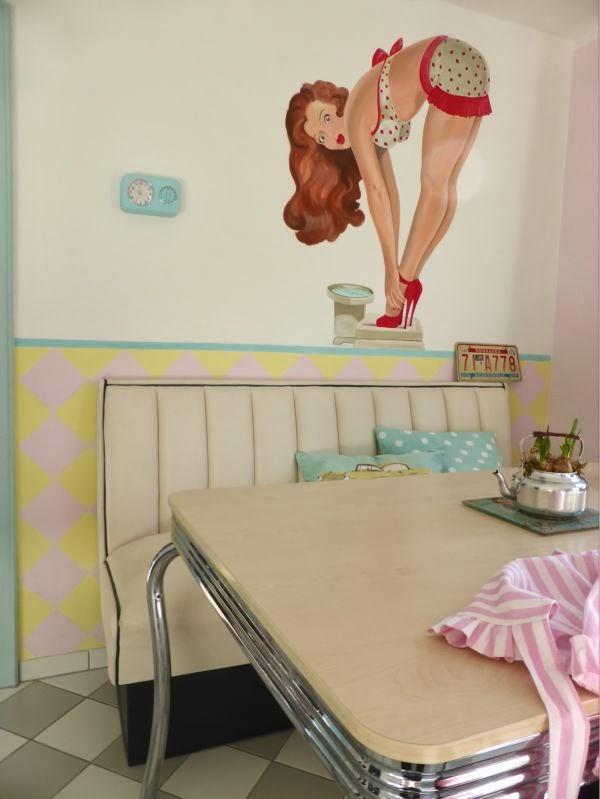 handgemalte herzenstr ume wieder k chenbilder. Black Bedroom Furniture Sets. Home Design Ideas