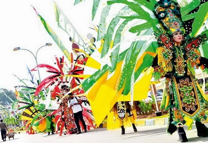 Erau festival folk festival kuta