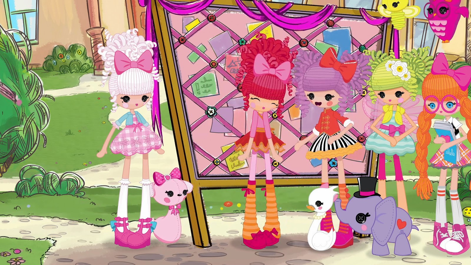 Lalaloopsy Girls 1 Hour Movie