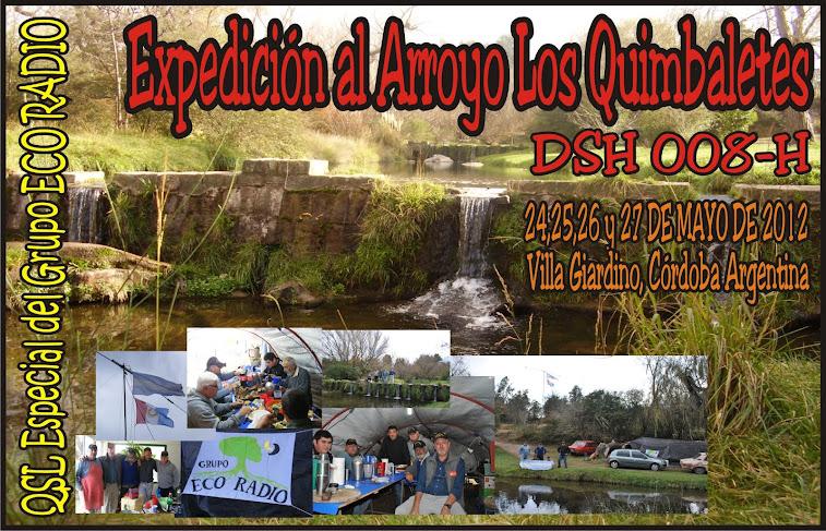 """QSL Expedición """"Arroyo los Quimbaletes"""""""