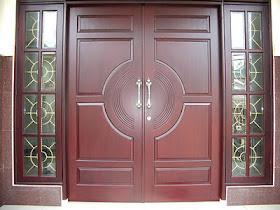 desain pintu utama
