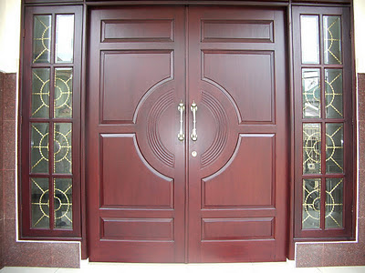 desain pintu utama rumah minimalis