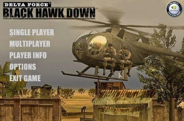 Game Gratis Delta Force - Black Hawk Down Demo