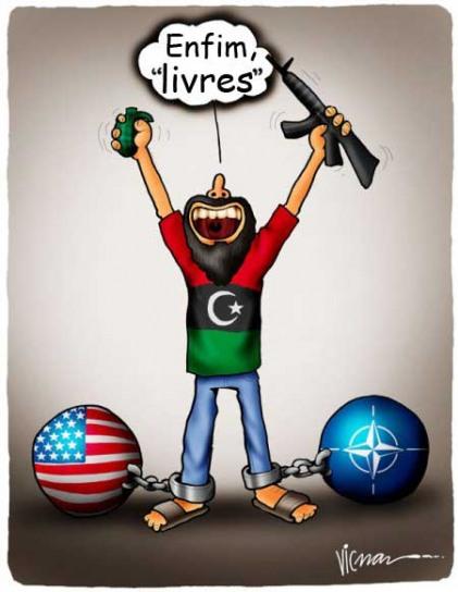 """A palavra está com a direita, que fala sobre o perigo da """"sharia"""" na Líbia"""