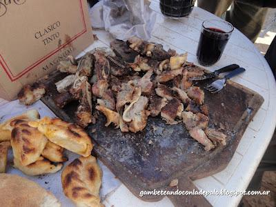 Empanadas y asadito - Gambeteandoconladepalo