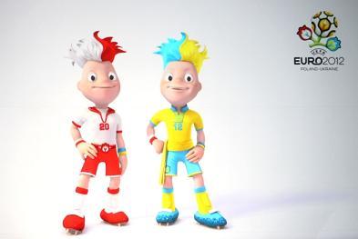 euro 2010 mascots