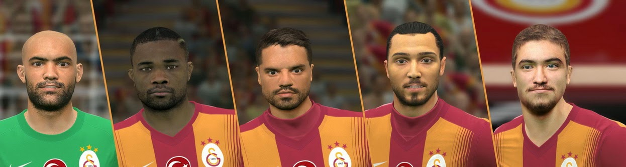 PES 2015 Galatasaray Facepack by muske25