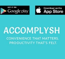 App of the Week (iOS & Android) - Accomplysh