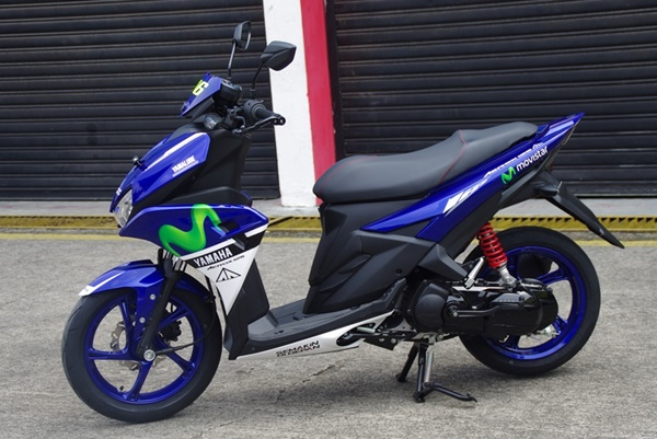 Yamaha Aerox 125 LC Livery Movistar MotoGP 2016