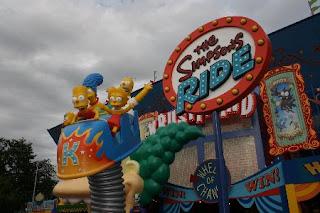 Universal Studios Orlando Simpsons Ride