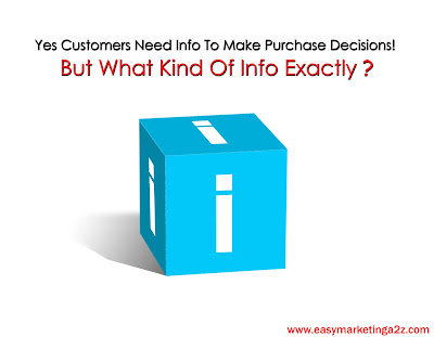 Customers & Information Based Decision Making