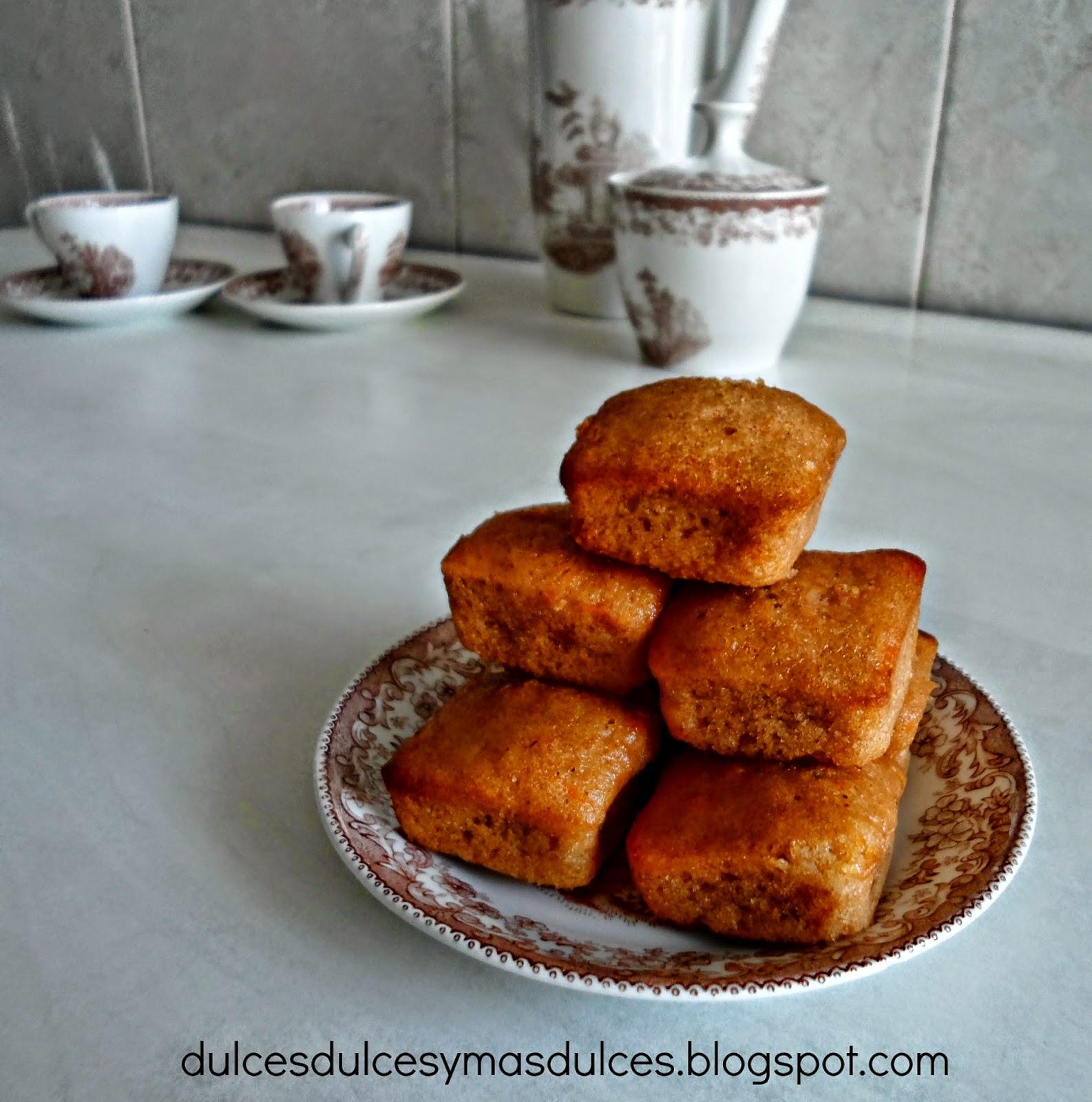 Bizcochitos De Naranja Y Almendra