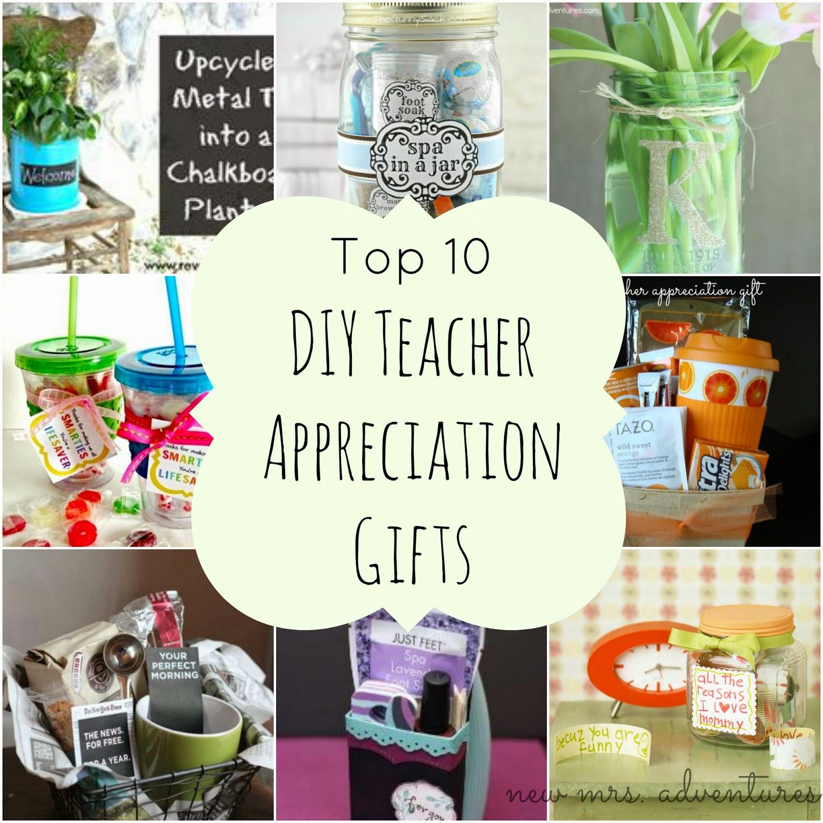 Barnabas Lane: Top 10 DIY Teacher Appreciation Gifts