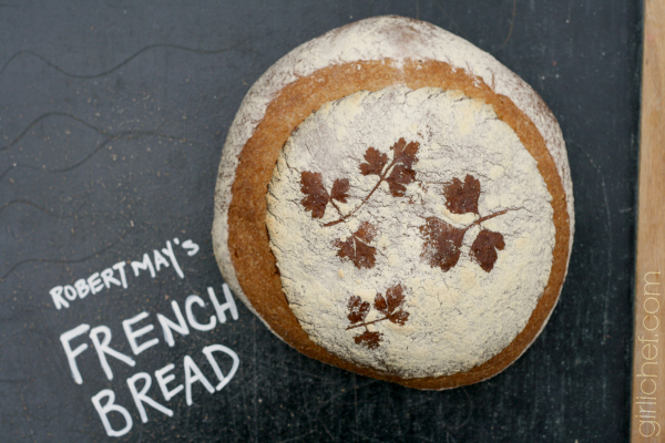 robert may's french bread (a historical bread from 1660)