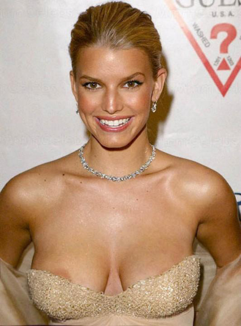 Well Jessica simpson nipple slips and pussy think