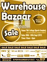 Warehouse Bazaar Sale 2012
